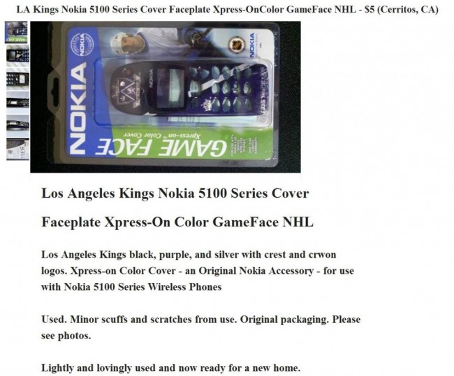 LA Kings Nokia Phone