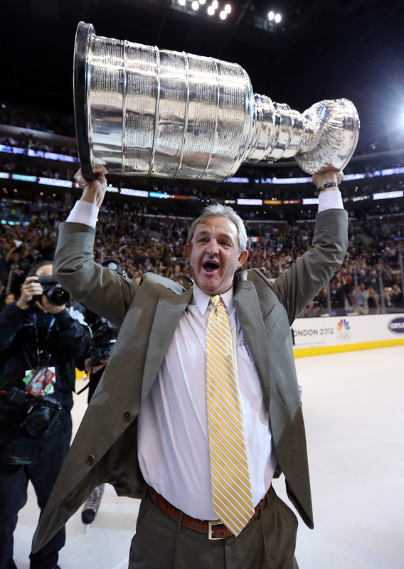 Darryl Sutter Yelling LA Kings