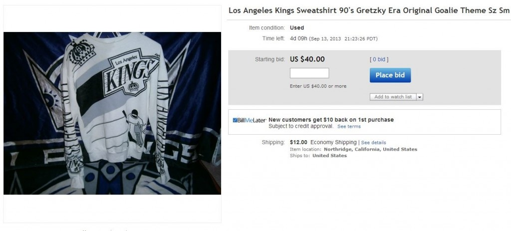 LA Kings Bro Sweatshirt - Hockey Hoarders