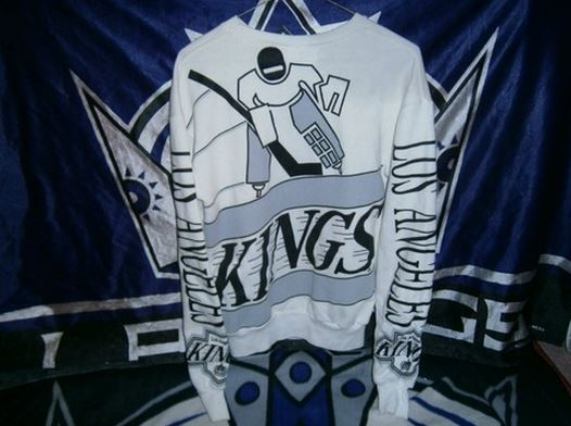 LA Kings Bro Sweatshirt back - Hockey Hoarders