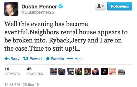 Penner Police Tweet 1