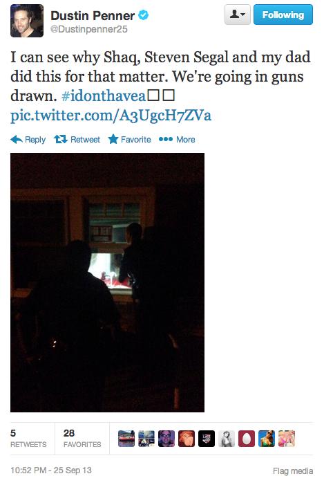 Penner Police Tweet 2