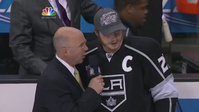 Pierre and Dustin Brown