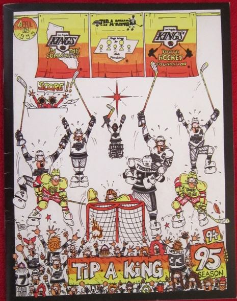 Tip a King 1994 LA Kings Full - Hockey Hoarders