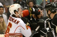 Flames Deal Knockout Punch to Kings