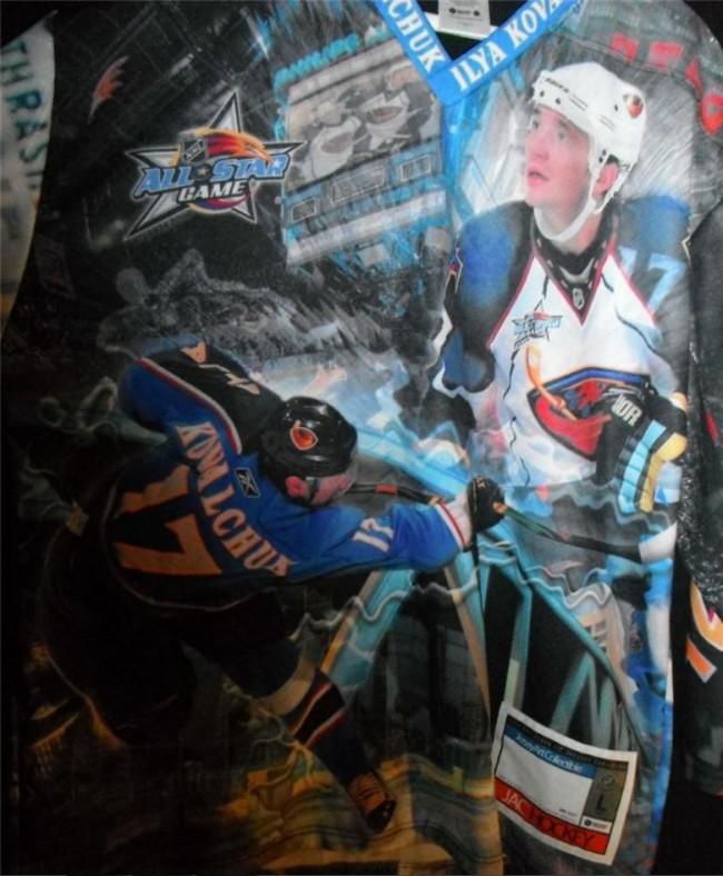 Ilya Kovalchuk Ugly Atlanta Thrashers Jersey Back - Hockey Hoarders