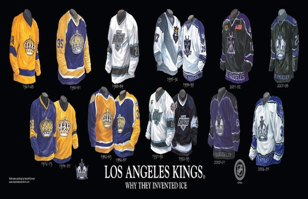35614e1e WORST TO FIRST JERSEYS: LA KINGS | The Royal Half