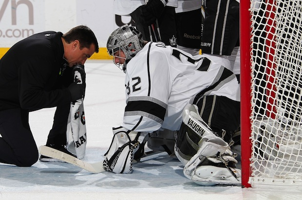 Jonathan Quick Groin Injury