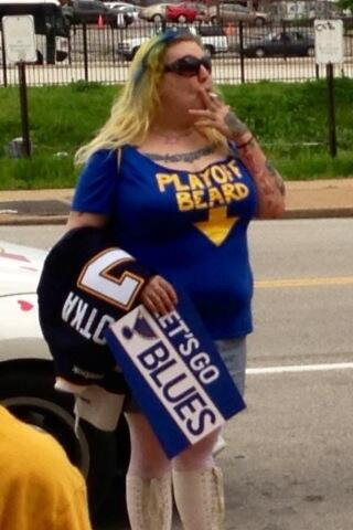 St Louis Blues Ugly Fan - Hockey Hoarders