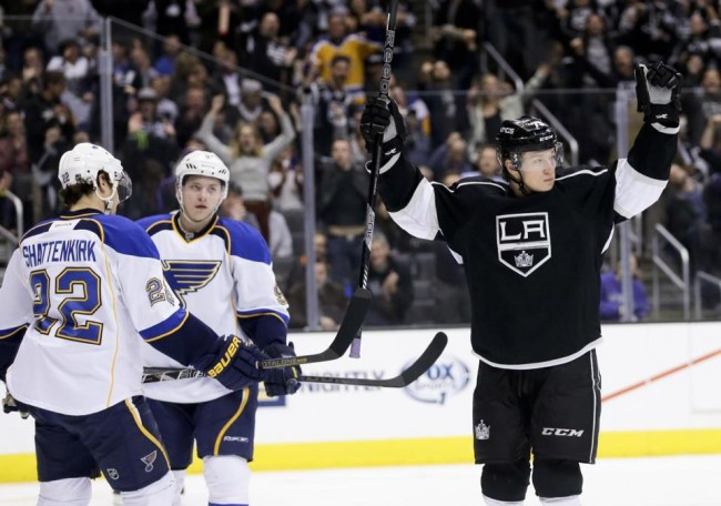 Tyler Toffoli LA Kings St Louis Blues - The Royal Half