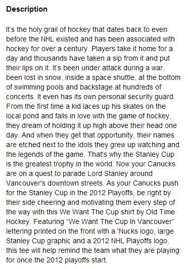 Vancouver Canucks We Want The Cup T-Shirt - Hockey Hoarders