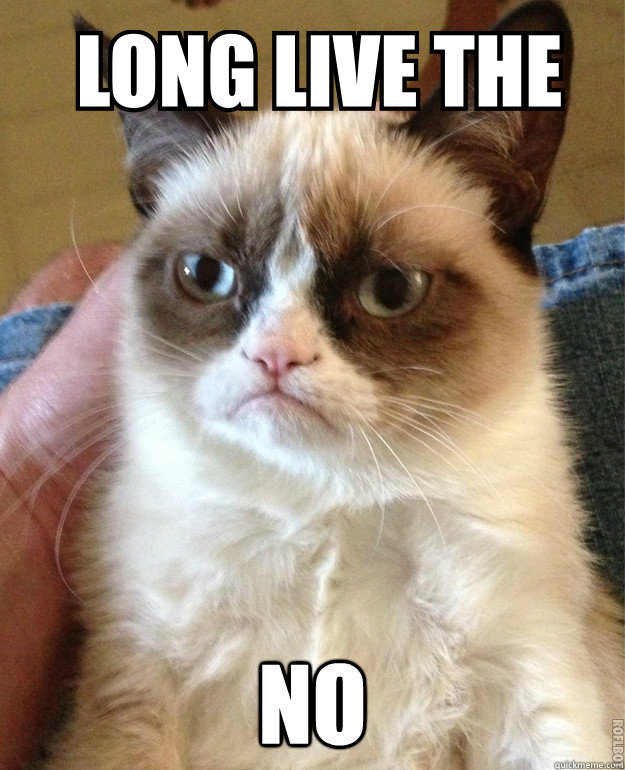 grumpy cat st louis blues long live the note - the royal half