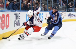 Columbus Blue Jackets v Atlanta Thrashers