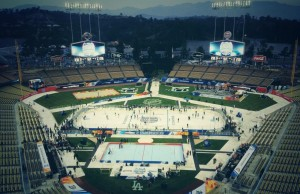 LA Kings Dodger Stadium - The Royal Half