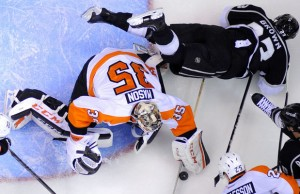 Flyers shutout Kings - The Royal Half