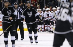 LA Kings Offense Can't Match Blackhawks - The Royal Half