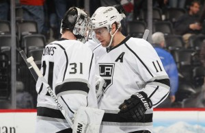 anze kopitar martin jones kings win 6-4 avs - The Royal Half