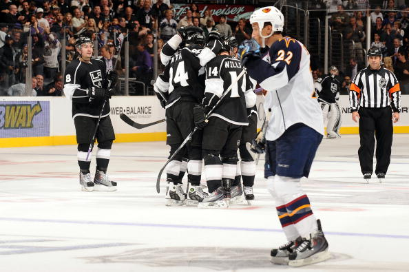Atlanta Thrashers v Los Angeles Kings