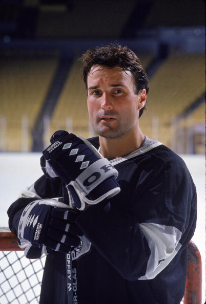 Portrait Of Paul Coffey