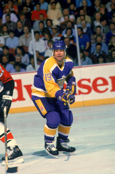 Jim Fox Of LA Kings