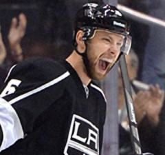 Muzzin celebrates LA Kings win over the Canadiens