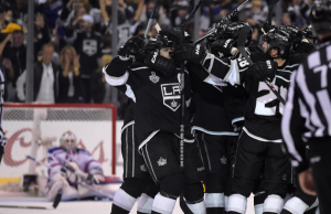 Kings win Game 2 over Rangers