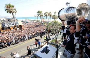 stanley cup hermosa beach la kings