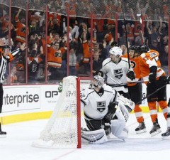 Flyers Kings No Goal Schenn