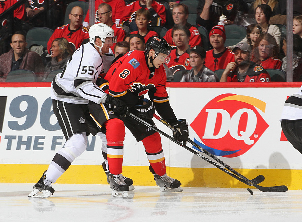 Los Angeles Kings v Calgary Flames