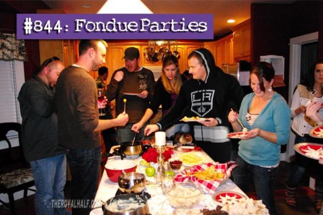 fondue parties