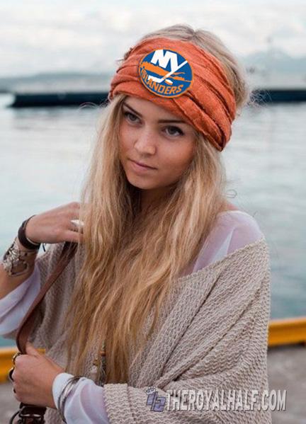 islanders headscarf