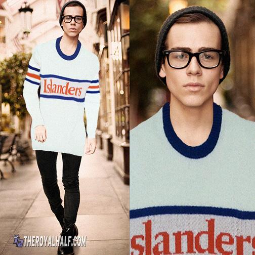 islanders oversized sweater