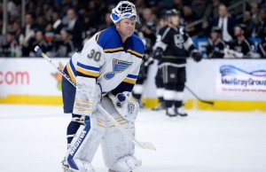 Martin Brodeur Blues sad loss to LA Kings
