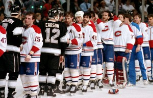 kings canadiens 1993 stanley cup final handshake