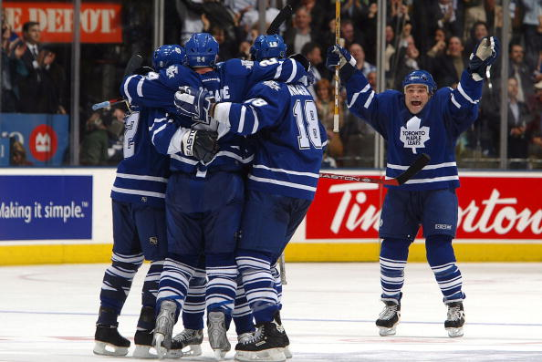 Senators v Maple Leafs