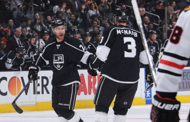 Jeff Carter happy Blackhawks