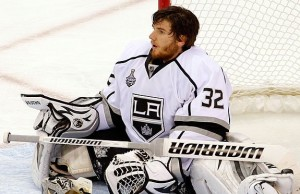 Jonathan Quick Sad Slump