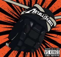 MetalliSharks vs LA Kings