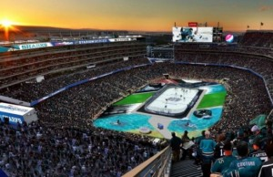 LA Kings San Jose Sharks Levis Stadium