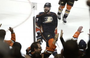 Ryan Kesler Jesse Cohen Ducks 3-2 OT win over Kings