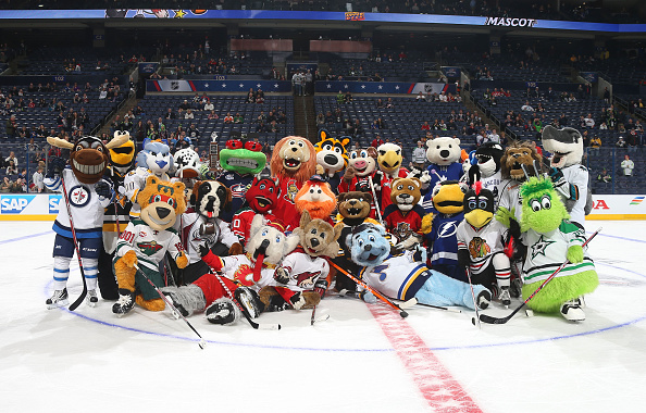 2015 NHL All-Star Weekend - Mascot Showdown
