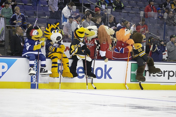 2015 NHL Mascot Showdown