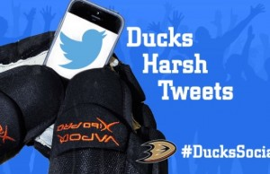 Anaheim Ducks Harsh Tweets