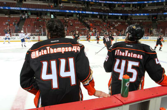 Anaheim Ducks Twitter Jerseys