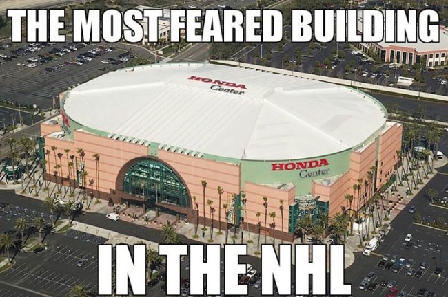 Honda Center Most Feared Building in the NHL