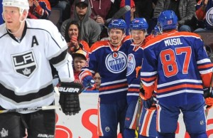 Kings drop crucial game to Oilers