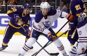 Richard Bachman Mike Richards Oilers Kings